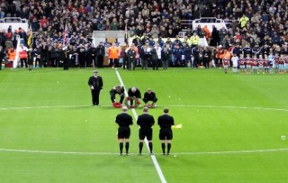 How the football world paid there respects on Remembrance Day