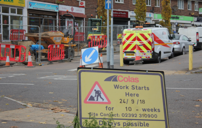 Southampton shopping promenade is undergoing works for a new facelift