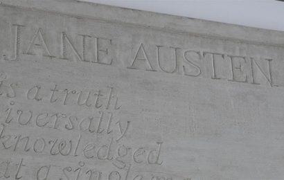 Jane Austen plaque revealed at NST City