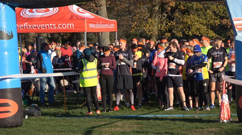 Hundreds of runners took part in Southampton's Mo Run wearing moustaches