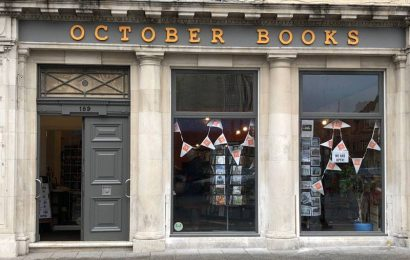 October Books nominated for Independent Bookshop of the Year Award