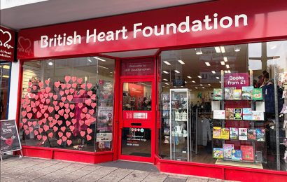 British Heart Foundation launches 'Love Hearts' campaign