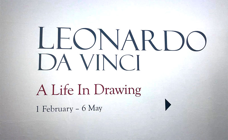 Leonardo Da Vinci's exhibition, a life in drawing is being shown at the Southampton City art gallery.