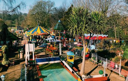 Children's Pleasure Park rises from the ashes