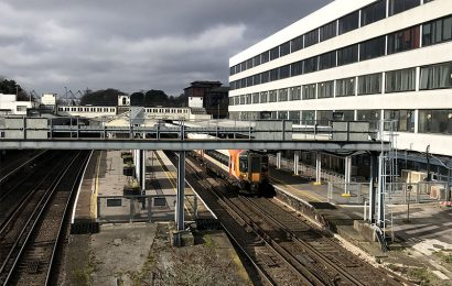 Engineering works in Southampton cause chaos for commuters