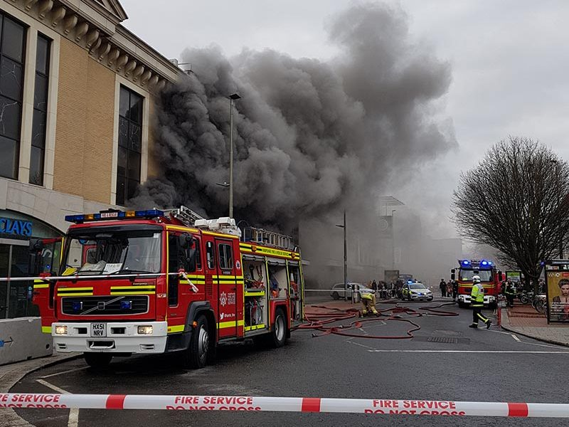 Fire-damaged Southampton store to be resold