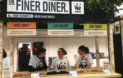 Solent University educate students on the benefits of Plant-based Meals.