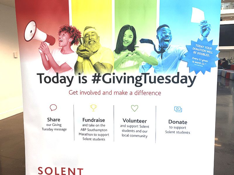 CELEBRATE GIVING TUESDAY, A GLOBAL DAY OF GIVING