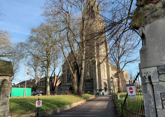 St Mary's Church joins the 'Open Together' project to help the city's homeless