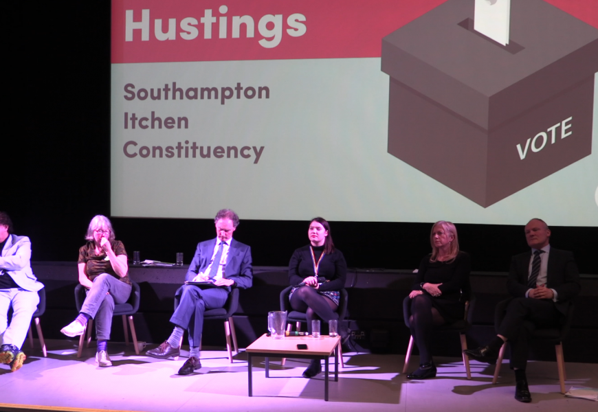University of Southampton hosts last Itchen hustings before the General Election