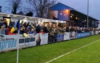 Gosport Borough rejoice as fans flood terraces amid Premier League streaming controversy