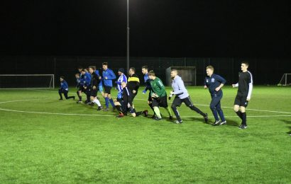 Grassroots football returns to Romsey