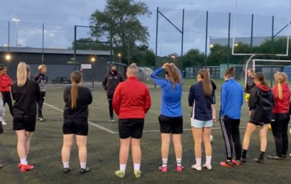 Attendance doubles for Solent Ladies football team